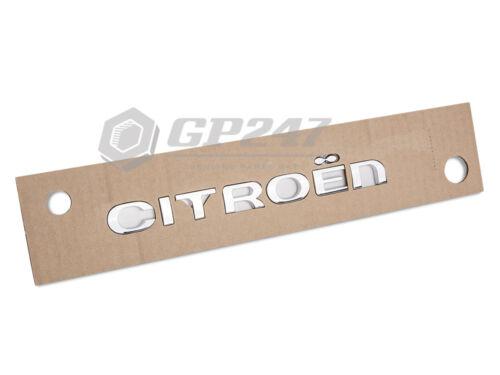 Citroen C1 C2 C3 C4 C5 C6 Berlingo Logo du coffre arrière lettres typage Genuine
