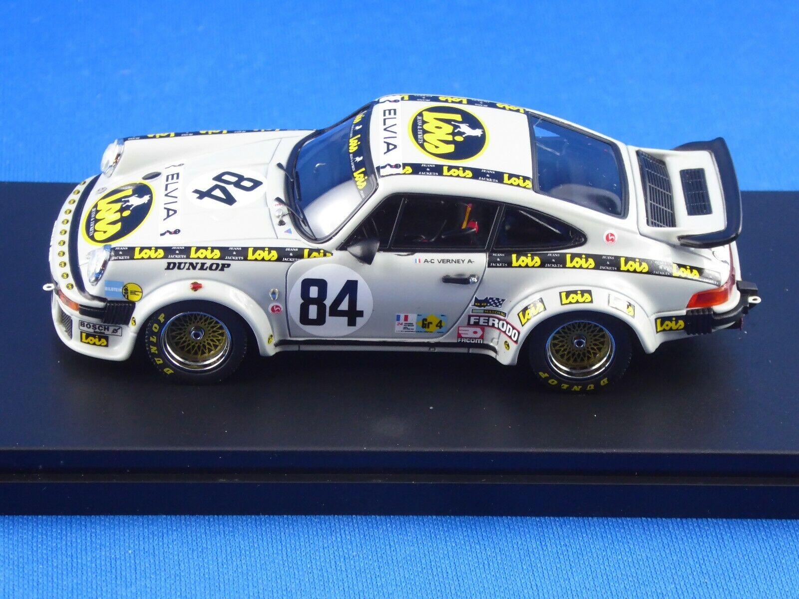 1 43 Porsche 934 Le Mans 24 h 1979 (Verney & Bardinon), Premium X, limitée