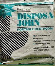 10 Disposable John Porta potty Bathroom Urinals for Men Women Children portable