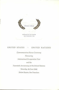 1266-First-Day-Ceremony-Program-5c-United-Nations-Stamp-w-UN