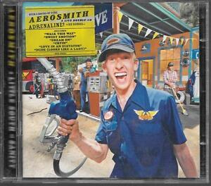 2-CD-ALBUM-LIVE-23-TITRES-AEROSMITH-A-LITTLE-SOUTH-OF-SANITY-1998