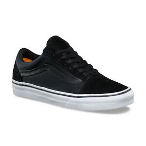 4e9d11e2c086ff VANS Old Skool (Boom Boom) Black True White Skate Shoes Womens Size ...