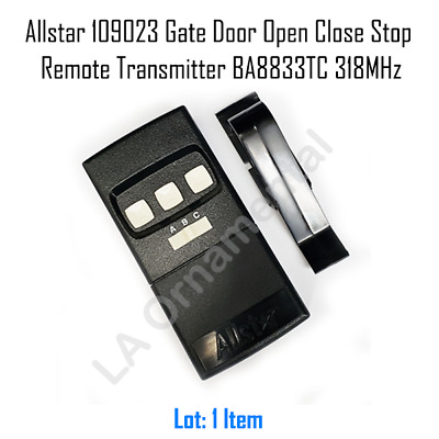 Allstar 8833-OCS 318MHz Garage Door Remote