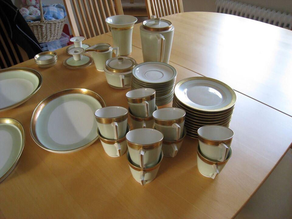 Porcelæn, Kaffestel, lyssestager