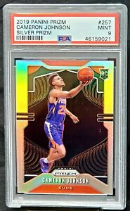 2019-Prizm-SILVER-REFRACTOR-Suns-CAMERON-JOHNSON-Rookie-Card-PSA-9-MINT-Pop-237