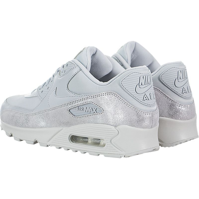 Nike Air Max 90 PRM Pure Platinum Pure Pure Pure Platinum-White Wmn Sz 10 896497-010 d8fc3c