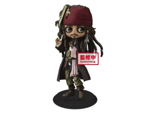 Banpresto Disney Pirates of the Caribbean Q Posket Jack Sparrow Ver.A