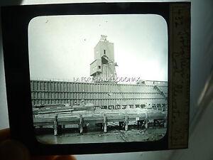 PHOTO MAGIC LANTERN 1890C NEW JERSEY HOBOKEN NJ COAL MINING FACTORY INDUSTRY