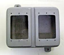 Killark 2fdq Device Box 2 Gang 2 78 Deep 1 Threaded Hub