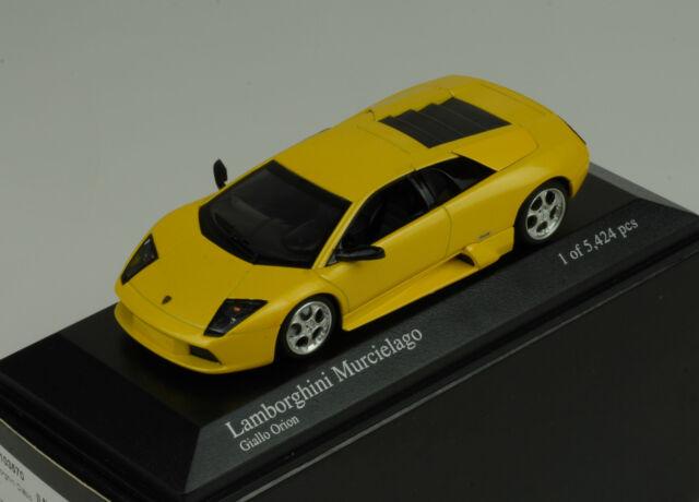 Lamborghini Murcielago 2004 GIALLO ORION Minichamps 1:43
