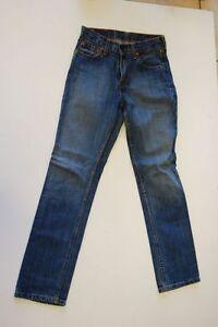 Jean W27 Blau L30 Levis 595 Stonewashed Tuyau q8xACw