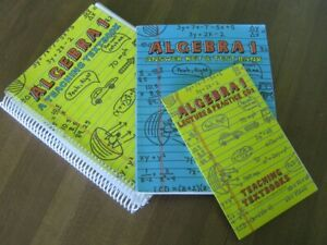 Teaching Textbooks Algebra 1 textbook, answer key, and CDs ...