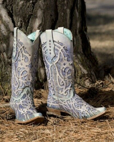 Corral Women's Chameleon color Changing Snip Toe Western Boots C3377 - SALE
