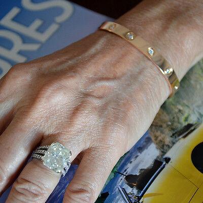 Cartier Love Bracelet Rose Gold With 10