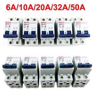 6A-10A-20A-32A-50A-2P-DC-400V-Miniature-Circuit-Breaker-2-Pole-Air-Switch-DC-MCB