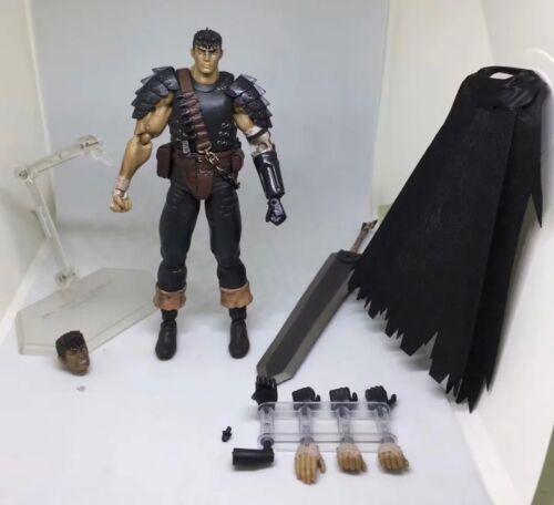Figma 359 Berserk Guts Repaint Edition Figure IN BOX Black Swordsman Ver