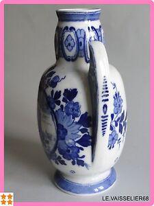 Initiative Un Ancien Vase Delft Art Deco Decor 515 Ht 21 Cm MatéRiaux De Haute Qualité