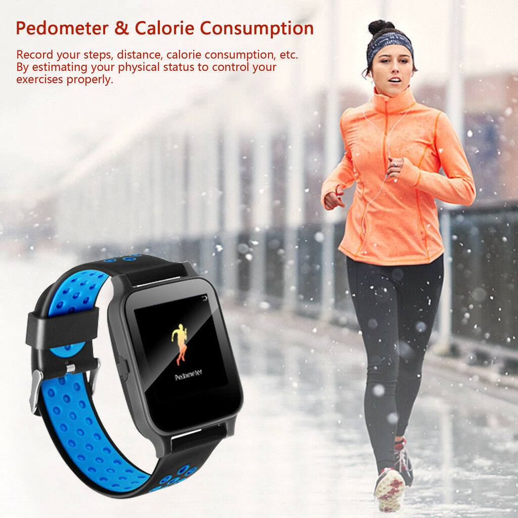 Bluetooth Smart Watch Fitness Tracker Heart Rate for Samsung S8 S9 S10 S20 Ultra bluetooth Featured fitness for heart rate s10 samsung smart tracker watch