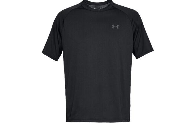 Under Armour Tech Men's Short Sleeve Training Running Shirt Top 1326413 Size L