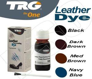 52e479fe0920 Image is loading TRG-Penetrating-Leather-Shoe-Dye-Kit-50ml-Leather-