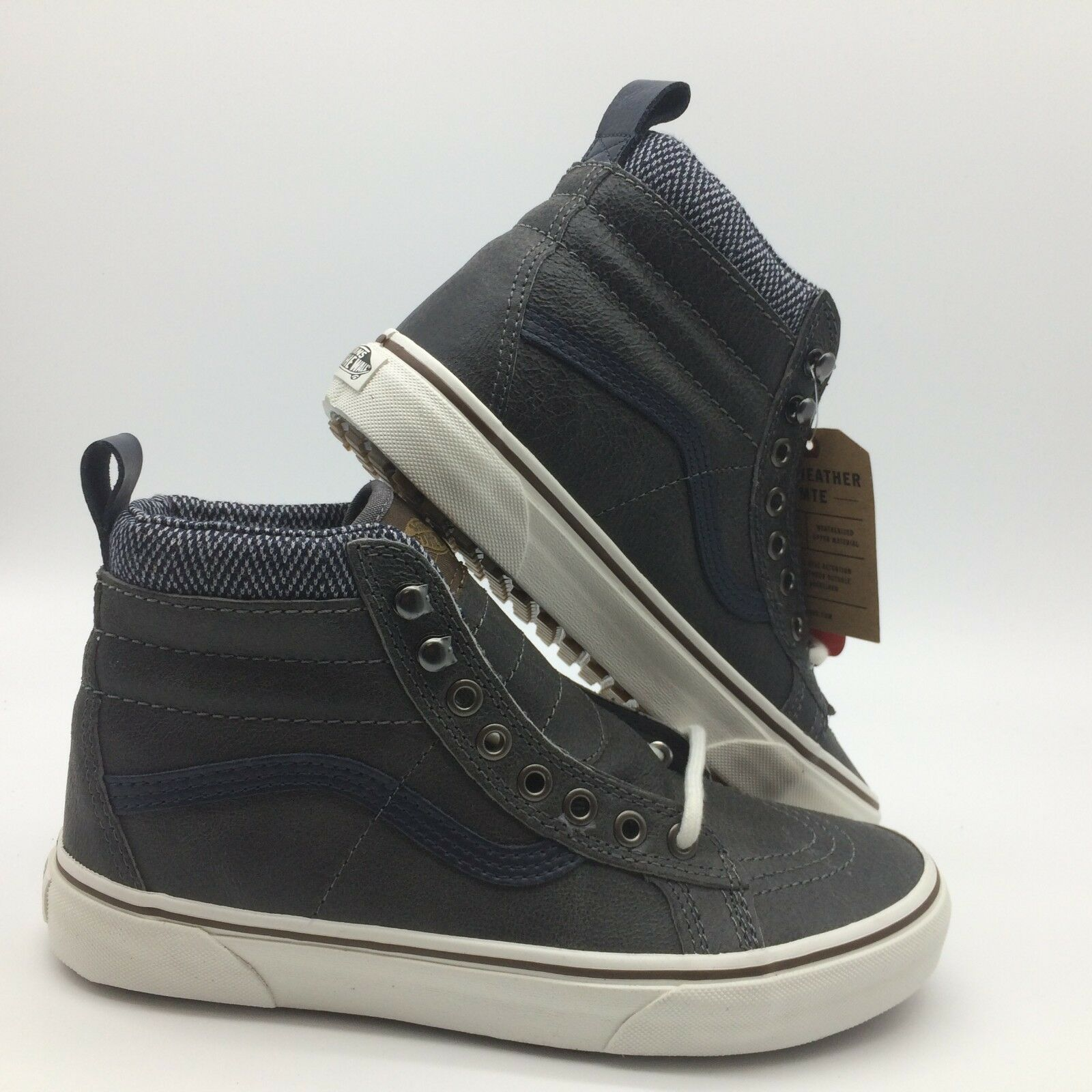 Vans Men's shoes  Sk8-Hi''--(MTE)-- Charcoal Herringbone