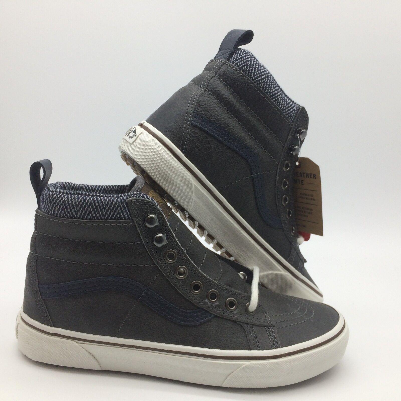 Vans Uomo Uomo Uomo scarpe  Sk8-Hi''--(MTE)-- Charcoal Herringbone 6bf676