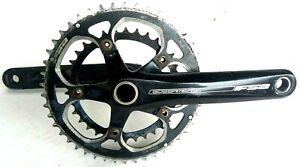 FSA Gossamer BB386 EVO Cyclocross Double Crankset 10//11 Speed 172.5MM  46//36