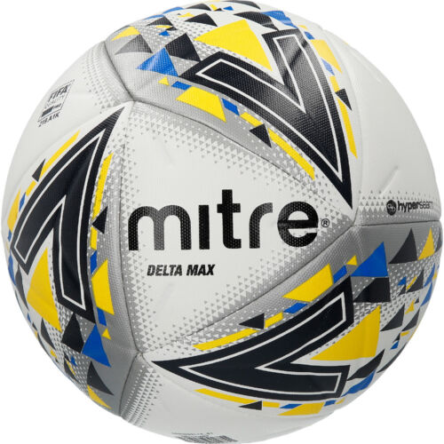 *Brand New* New 2018 Mitre Delta Max Football Size 5 White
