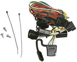 s l300 1998 2004 isuzu rodeo trailer hitch wiring kit harness plug & play  at fashall.co