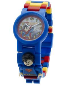 LEGO DC Comics Super Heroes Superman Kids Minifigure Link Buildable Watch