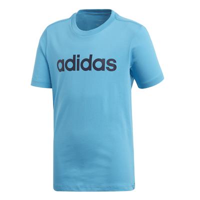 Adidas Kids Tshirt Logo Tee Running Essentials Linear Training Boys DV1814 New | eBay