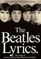 The Beatles Lyrics - The Songs Of Lennon Mccartney Harrison 000308137