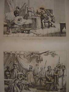 Gravure Maléfices de ROBERT D'ARTOIS Bourgeois CALAIS - France - Période: XIXme et avant - France