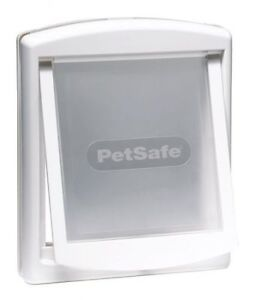 Petsafe Staywell 740EF Cat Flap Small 2 Way Pet Dog Door Medium White
