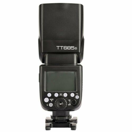 UK Godox TT685S For Sony DSLR A6300 A99 A58 6000L 2.4G HSS TTL GN60 Camera Flash