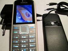 Nokia 5070 RM 166 weiß / rot + Lader gebraucht Art. Nr. 159 X