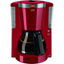 Melitta Look IV Selection 1011-17 Rot Filter-Kaffeemaschine 1000 W Tropfstop