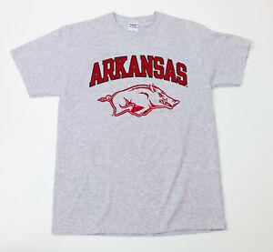 EUC-Arkansas-Razorbacks-Gray-T-Shirt-US-M