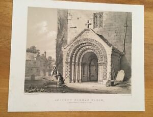 c1840-St-Margarets-Church-York-Monkhouse-And-Bedford-Lithograph