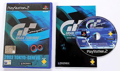 Sony PLAYSTATION 2 PS2 GRAN TURISMO CONCEPT TOKYO-GENEVA 2002 Sony SCES-50858