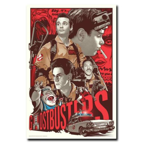 Ghostbusters SFX Team Featurette 24x36inch Movie Silk Poster Cool Gifts