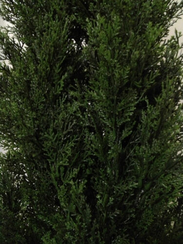 "CEDAR 7/' OUTDOOR UV TOPIARY TREE 84/"" ARTIFICIAL BUSH CYPRESS PINE 6 TOWER FAKE"