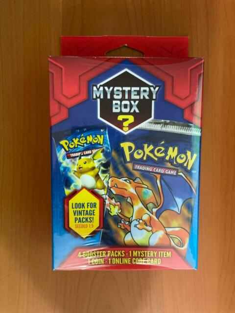 Sealed Pokemon Mystery Box (Walgreens) May Contain Vintage Pack Rare Unweighed