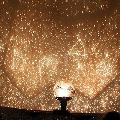 Astro Star Galaxy Master Projector Laser Cosmos Sky Starry Night LED Light Lamp