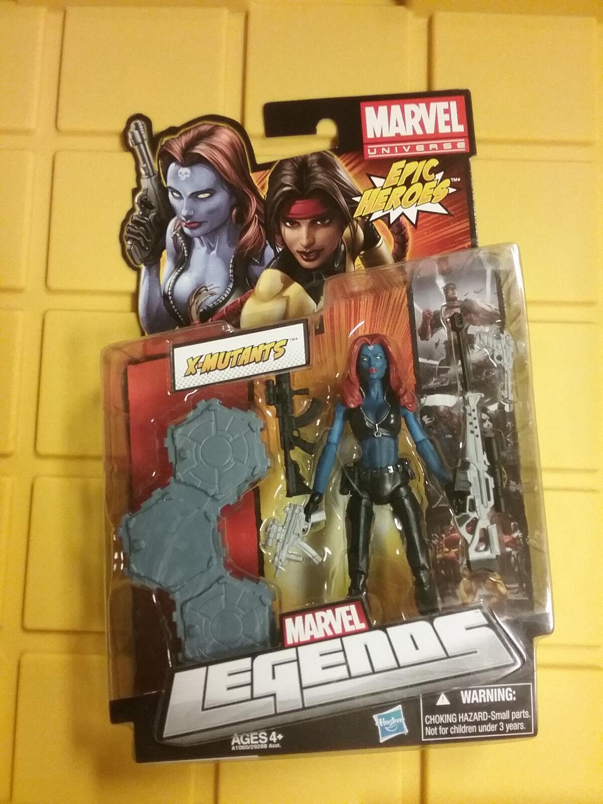 Marvel - legenden epischen helden x-mutants mystique abbildung neue