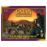 Catan: Traders And Barbarians 5-6 Player Extension - 4th Edition , New, Free Shi