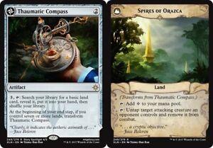 Thaumatic Compass // Spires of Orazca x1 Magic the Gathering 1x Ixalan mtg card