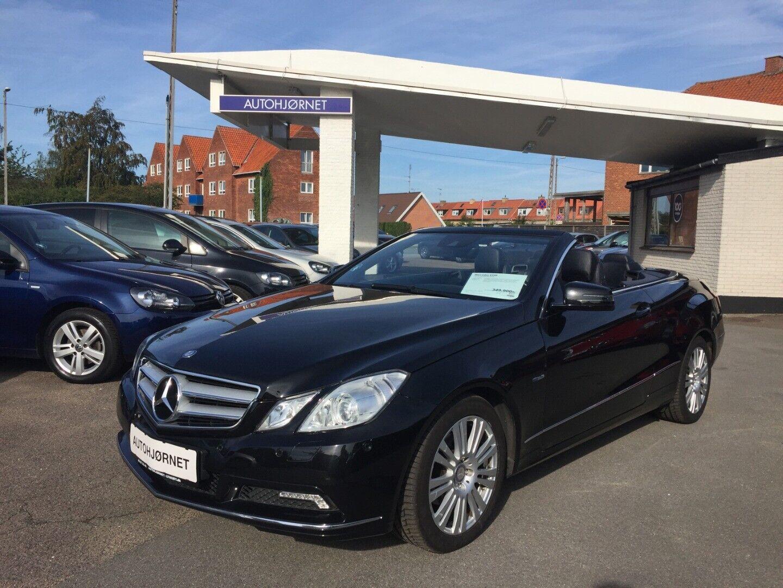 Mercedes E200 1,8 CGi Cabriolet aut. BE 2d - 349.900 kr.
