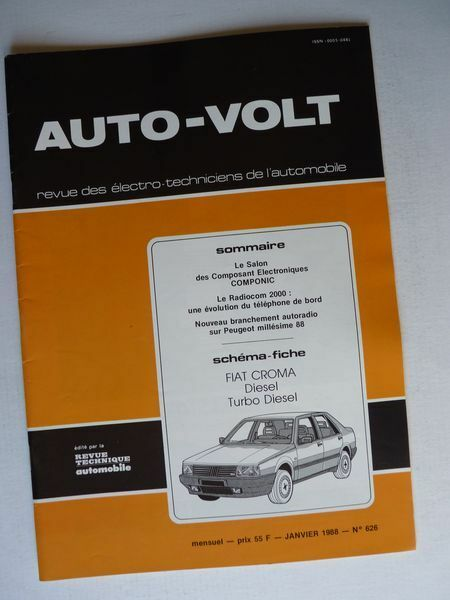 Auto Volt Fiat Croma R And Turbo D