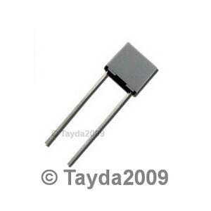 10 x 2.2nF 0.0022uF 100V 5/% Polyester Film Box Type Capacitor USA Seller